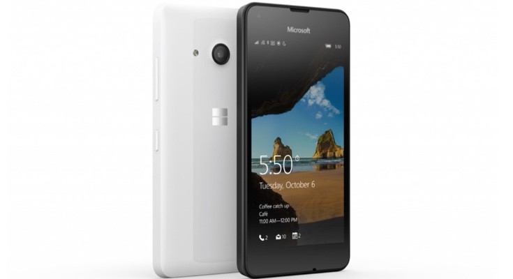 Microsoft Lumia 550 release official, available now