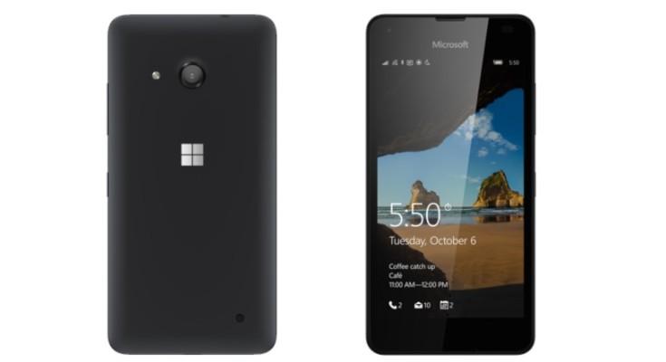 Microsoft Lumia 550 vs Lumia 640 b