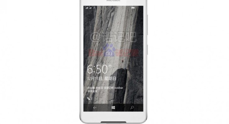 Microsoft Lumia 650 in new image leak