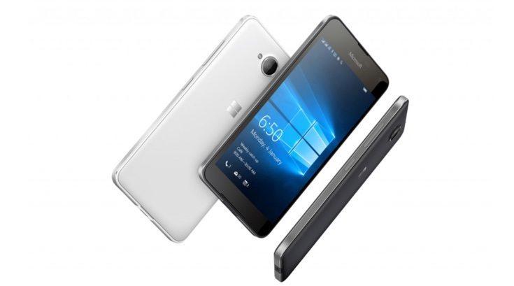 Microsoft Lumia 650 vs Lumia 550