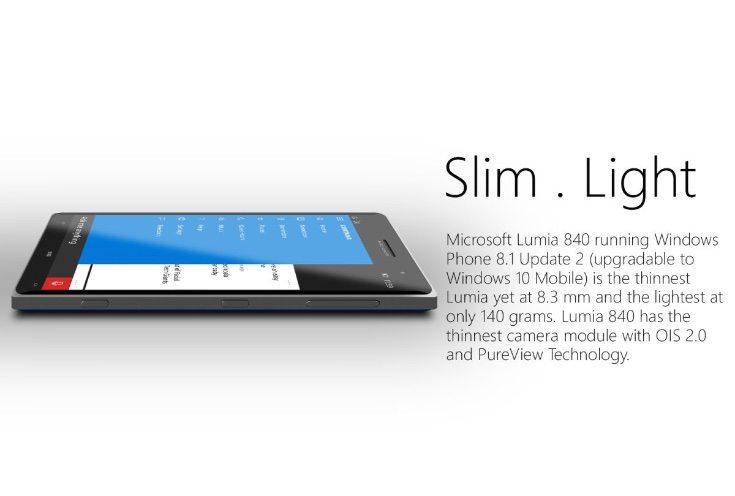 Microsoft Lumia 840 render b