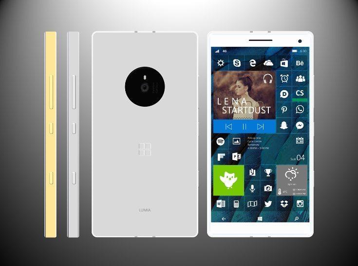 Microsoft Lumia 940 XL design b