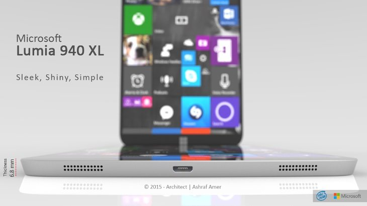 Microsoft Lumia 940 XL design d
