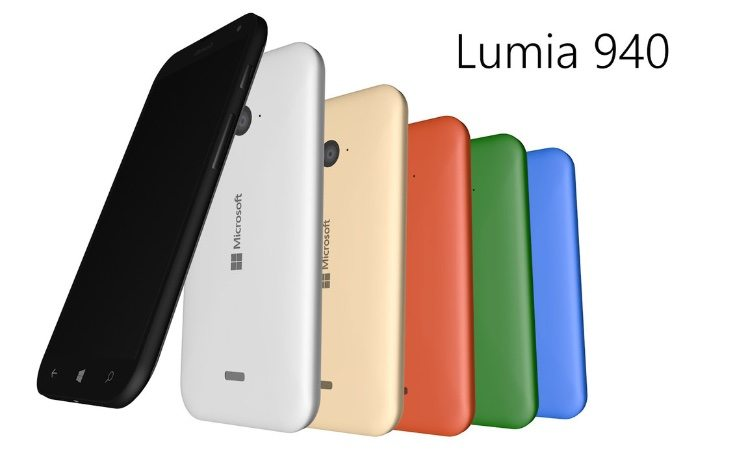 Microsoft Lumia 940 XL vision