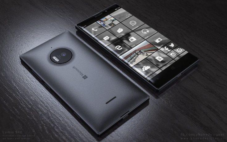 Microsoft Lumia 940 design b