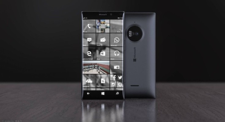 Microsoft Lumia 940 design