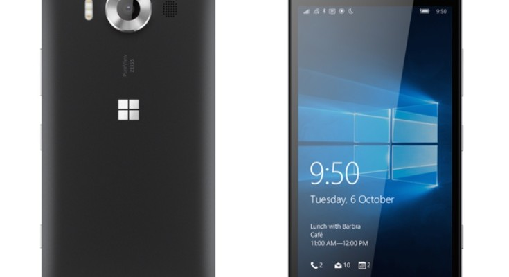Microsoft Lumia 950 and XL version prices