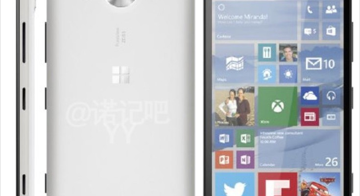 Microsoft Lumia 950 in white