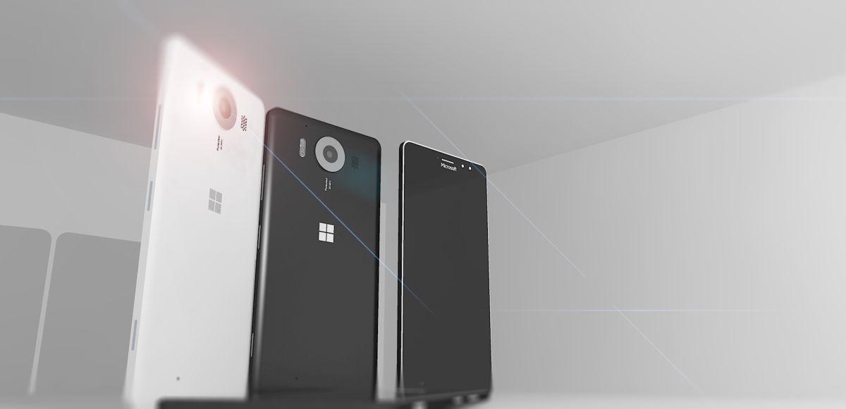 Microsoft Lumia 950 prototype design c