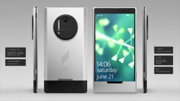 Microsoft Surface Phone design offers style
