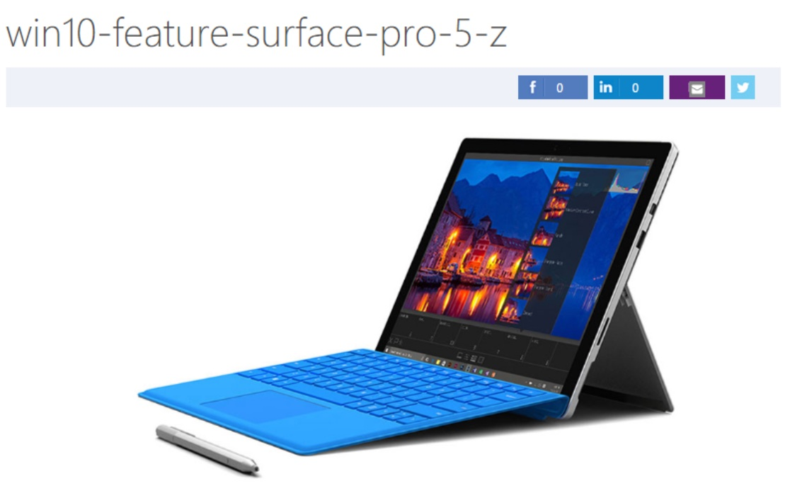 Microsoft Surface Pro 5 rumors build with purported image