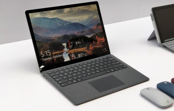Microsoft Surface Laptop 2 revealed