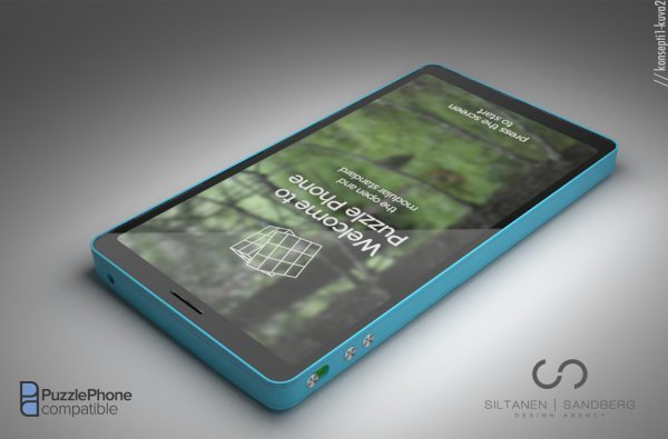 Modular Puzzle Phone surprisingly Google branded pic 2