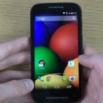 Moto E unboxing and initial overview videos
