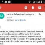 Moto G soak test
