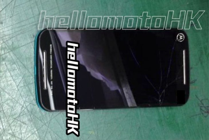 Moto G2 images before release