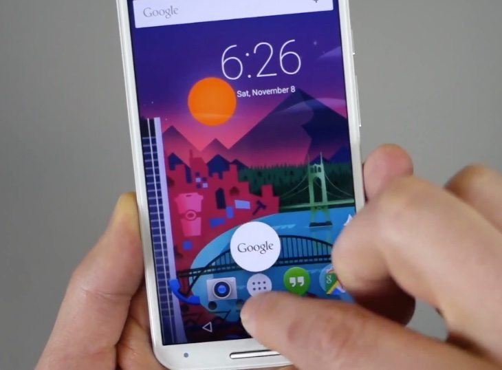 2014 Moto X Android 5.0 Lollipop video tour