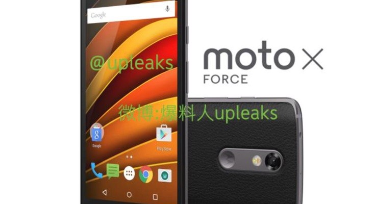 Moto X Force aka Bounce in new leaked image