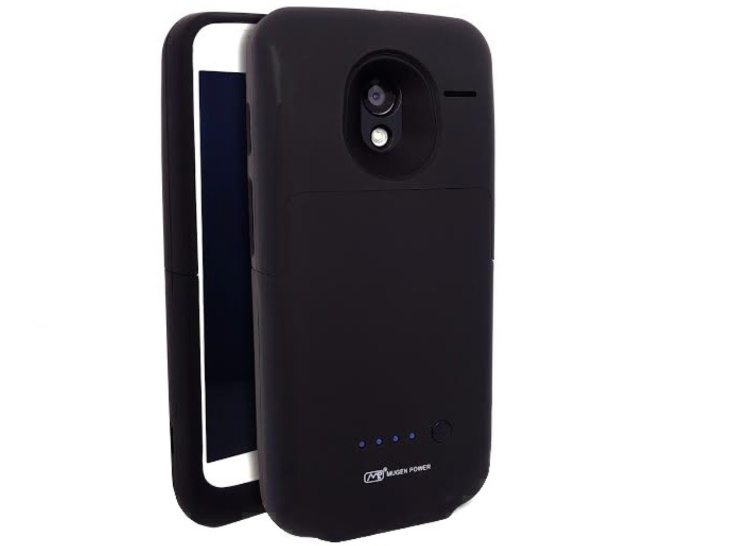 Moto X Mugen Power battery case with worldwide shipping