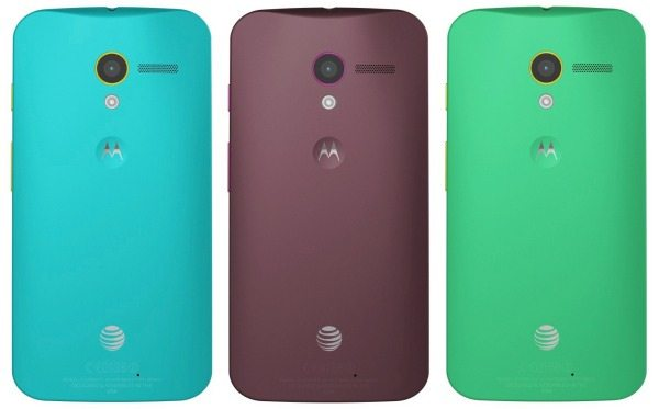 Moto X Phone limitations with color combinations