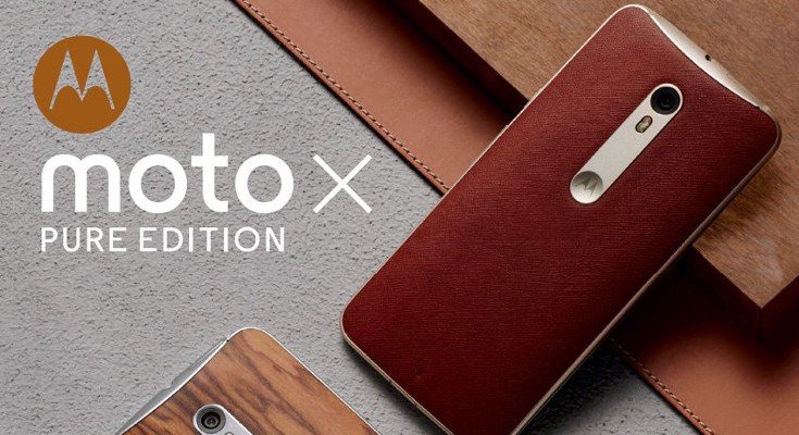 Save $100 on Father's Day Deal on a Motorola Moto X Pure Edition