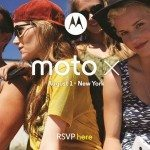 Moto X launch date not long away