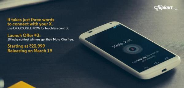 Moto X price and availability for India now known