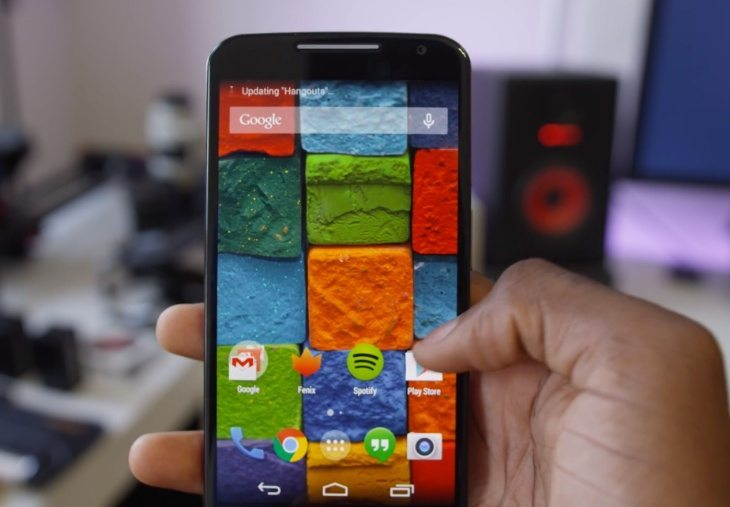 Moto X review collection