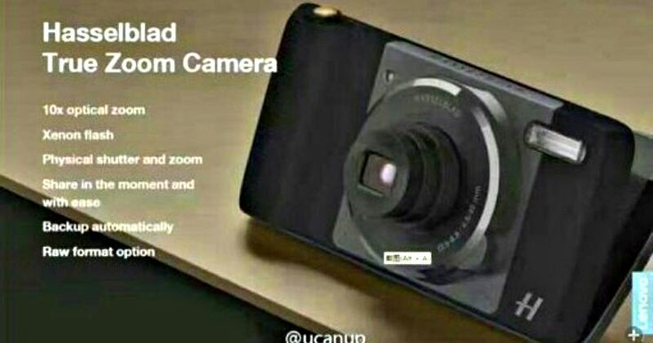 Moto Z Camera Mod will be made by Hasselblad