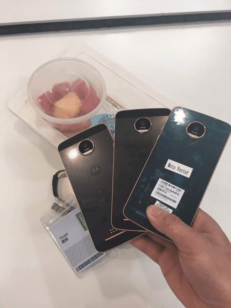 Moto Z Play Live Pictures Leaked