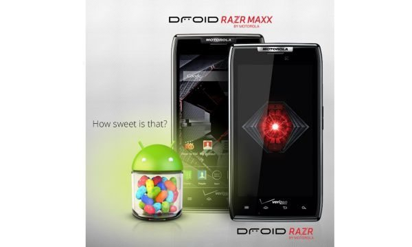 Motorola Droid Razr & Maxx Android 4.1 JB OTA & noticeable changes