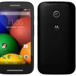 Motorola Moto E new image and specs leak shows all