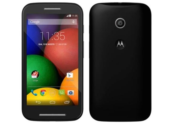 Motorola Moto E image shown with specs leak ...