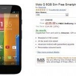 Motorola Moto G listed unlocked on UK retailer