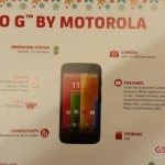 Motorola Moto G pricing and specification clues