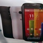 Motorola Moto G specs and photo facade
