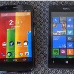 Motorola Moto G vs. Nokia Lumia 520, value compared