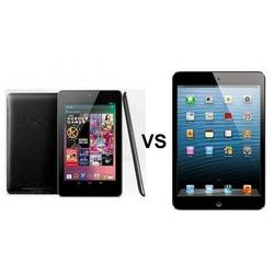 Nexus 7 against iPad mini in drop test video