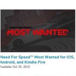 Need for Speed Most Wanted for Android, 4 days left