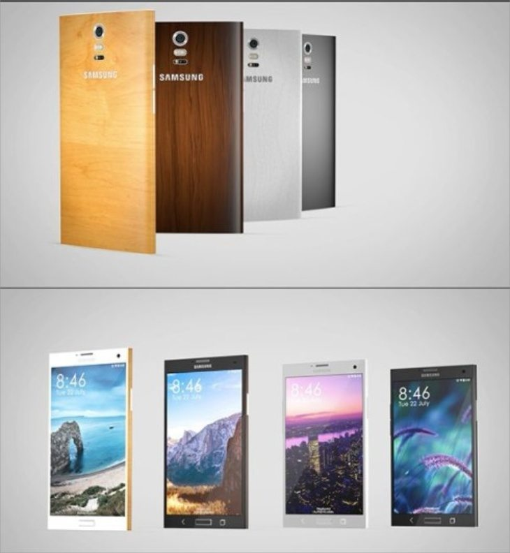 New Galaxy Note 4 design b