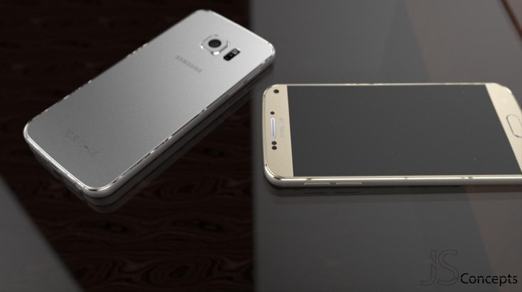 New Galaxy S7 design d