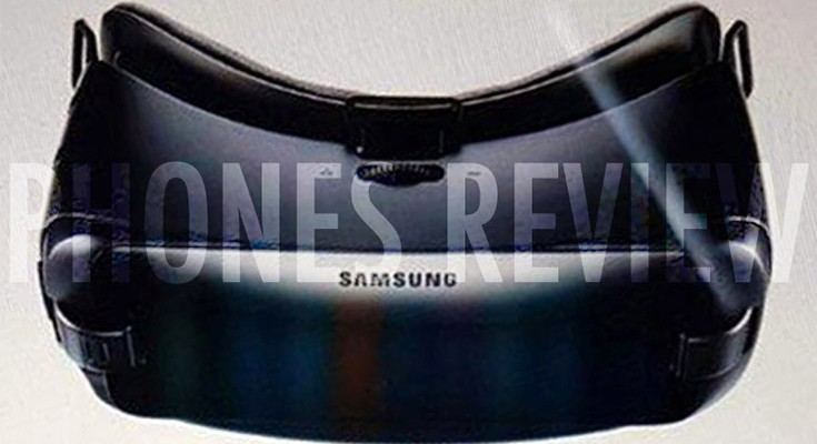 Upcoming New Gear VR from Samsung pictured