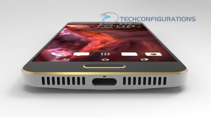 New HTC One M10 renders