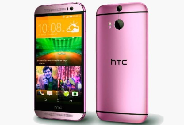 New HTC One M8 color options tipped as blue, pink and red