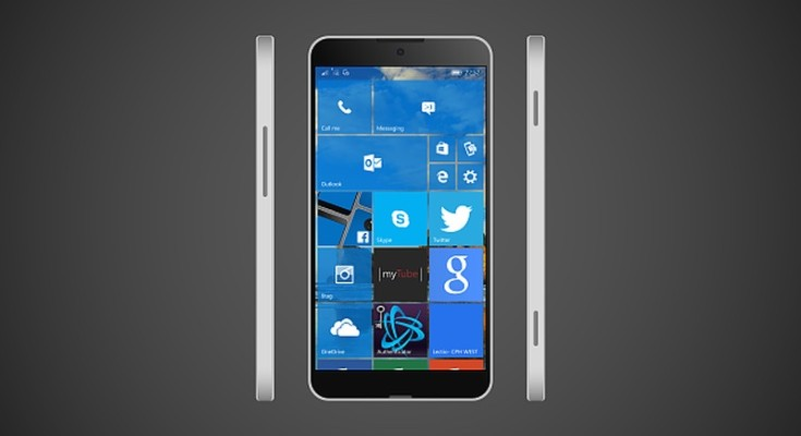 New Microsoft Lumia design