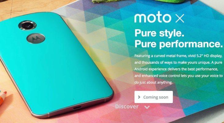 New Moto X US pre-orders