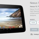 New Nexus 10 2014 possible with Google Play Status