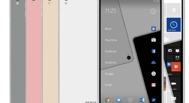 New Nokia C1 purported render suggests Android or Windows 10 choice
