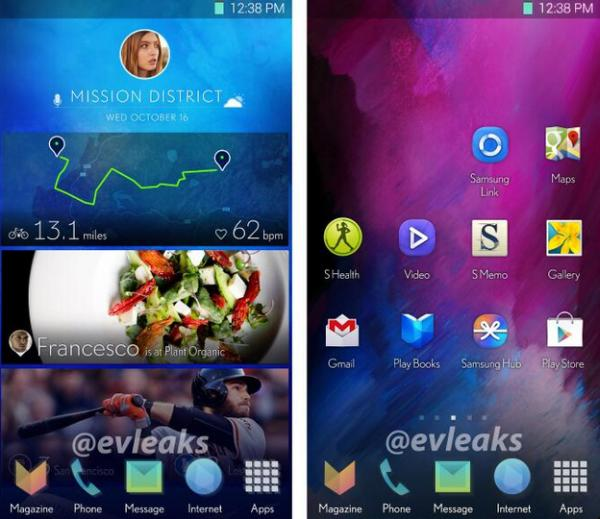 New Samsung Android UI supposedly revealed