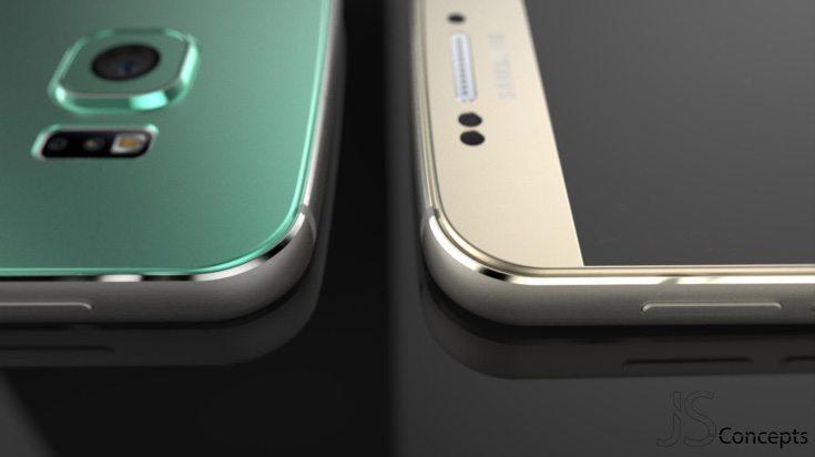 New Samsung Galaxy S7 design